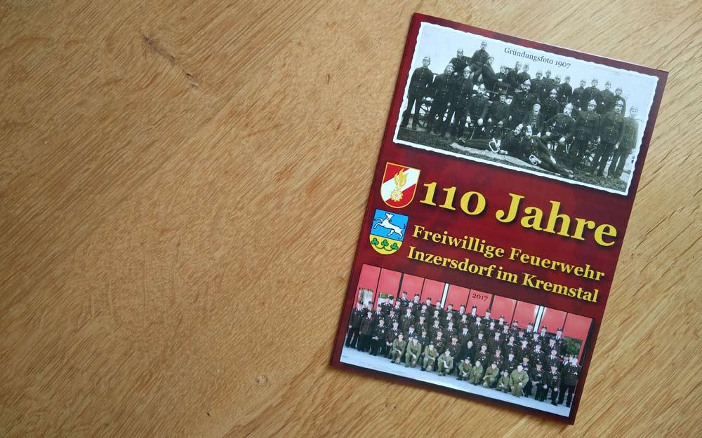 Einladung Jubiläumsfeier 110 Jahre FF Inzersdorf