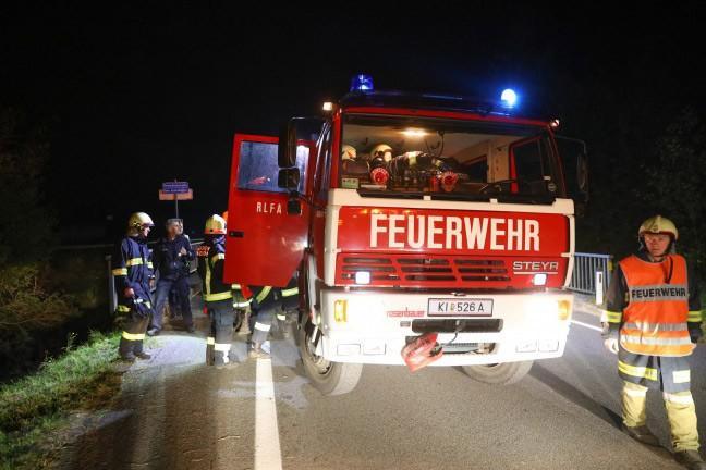 Verkehrsunfall Pyhrnpass Straße FF Inzersdorf 3