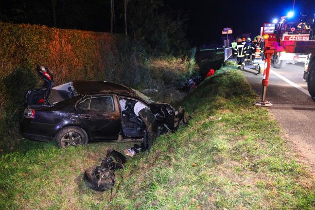 Verkehrsunfall Pyhrnpass Straße FF Inzersdorf 4