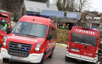 Brandeinsatz am Koglerberg
