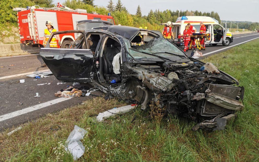 Wieder Schwerer Unfall auf der Pyhrnautobahn