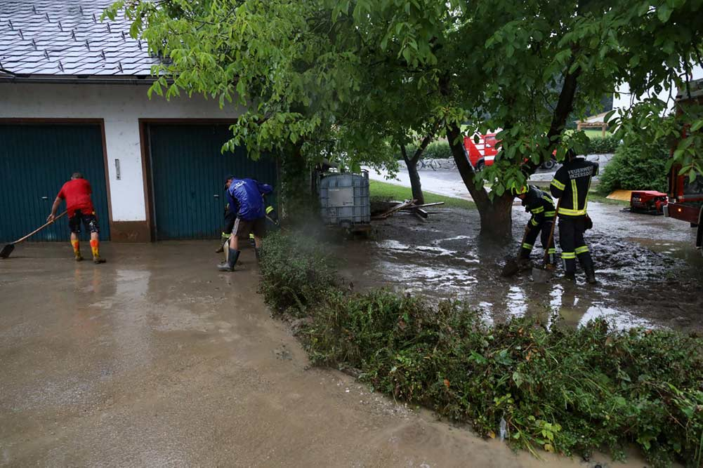Feuerwehr Inzerdorf - Unwetter 13-08-2020 - 2