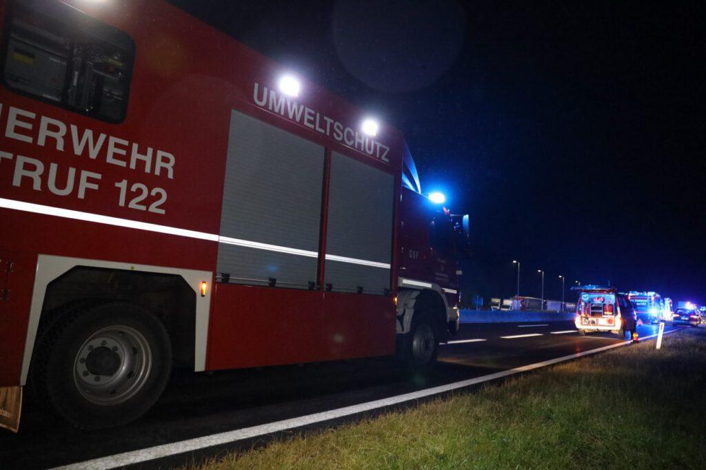 Kräftezerrende Einsatznacht FF Inzersdorf